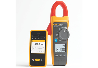 True-RMS Wireless Clamp Meter for HVAC technicians